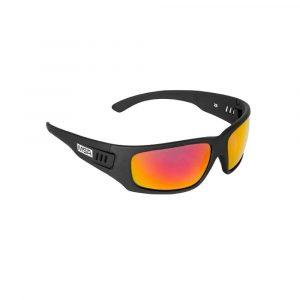 MSA Z5 Safety Glasses With Black Frames & Smoke Mirror Lenses