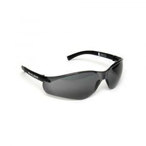 MSA NULLARBOR Safety Glasses With Black Frame & Smoke Scratch Resistant Lenses