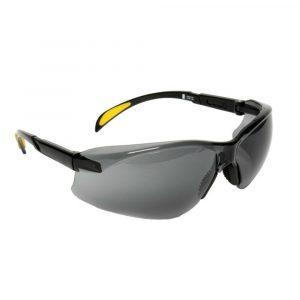 MSA BLOCKZ Safety Glasses With Black Frames & Smoke Anti-fog Lenses