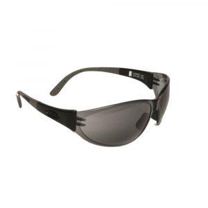 MSA ARCTIC GOLD Safety Glasses With Black Frames & Smoke Lenses