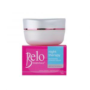 BELO Essentials Night Therapy Whitening Vitamin Cream – 50g