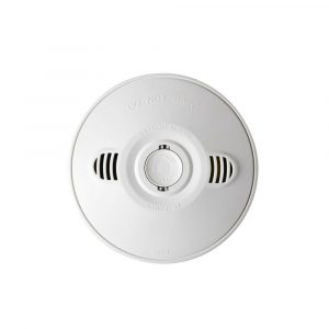 LEGRAND 240 Volt Surface Mounted Photoelectric Wired Interconnect Smoke Alarm